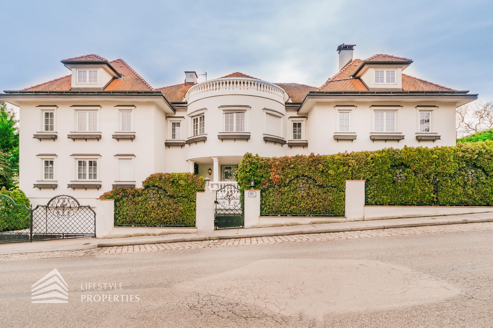 Atemberaubende 13-Zimmer Villa mit Naturschwimmteich in Hadersdorf (3)